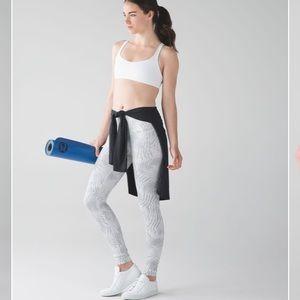 Lululemon Palm Camo White Nimbus pants size 8